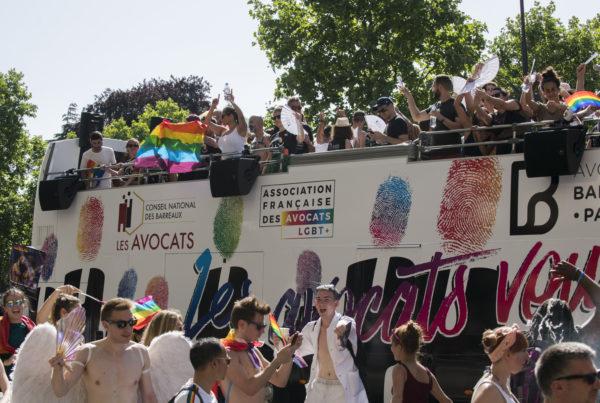 Association française des avocats LGBT - char des avocats